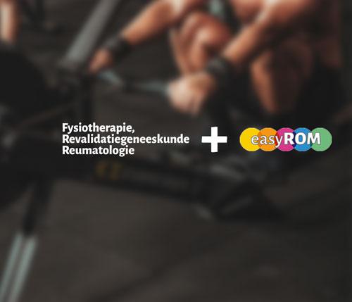 EasyROM voor Fysiotherapie, Revalidatiegeneeskunde en Reumatologie